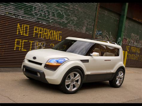 2006 Kia Soul 2006 Kia Soul Concept Front And Side Tilt 1280x960