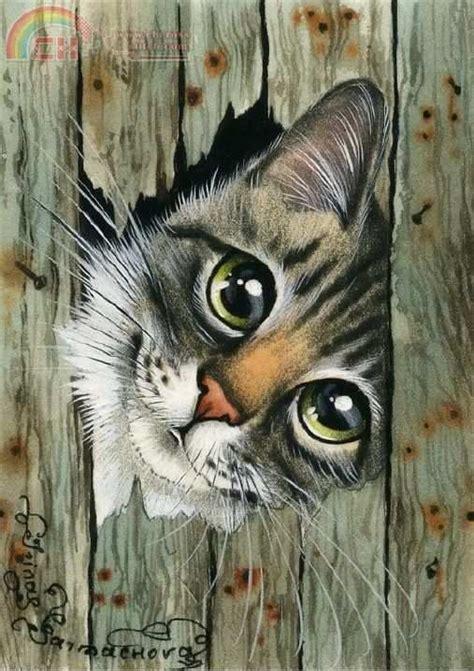 paint like cat 25 best ideas about cat paintings on cat