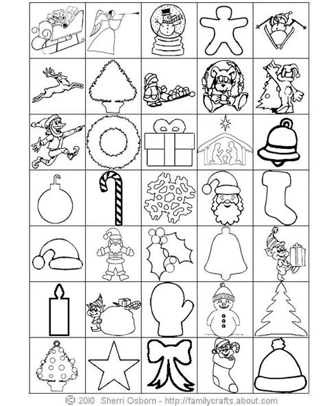 printable christmas bingo cards black and white 8 best images of black and white holiday christmas cards