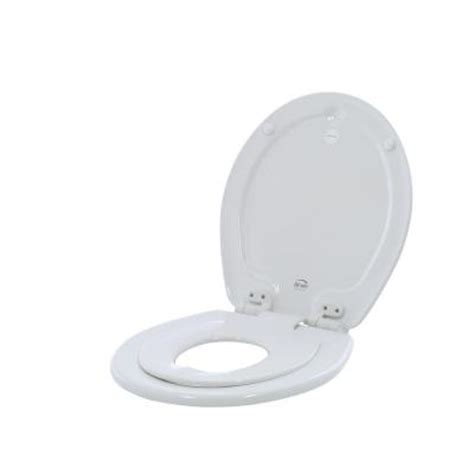 bemis nextstep closed front toilet seat in white
