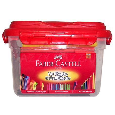 Faber Castell Connector faber castell 60 connector colour marker pen 8 crayon 12