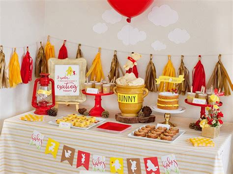 Baby Pooh Baby Shower Decorations by 31 Fresh Baby Shower Themes That Aren T Tacky Or Overdone