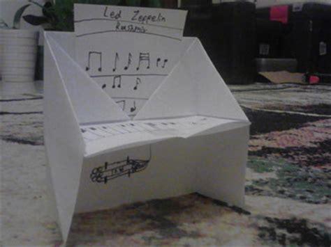 Origami Piano Bench - origami piano bench tutorial origami handmade