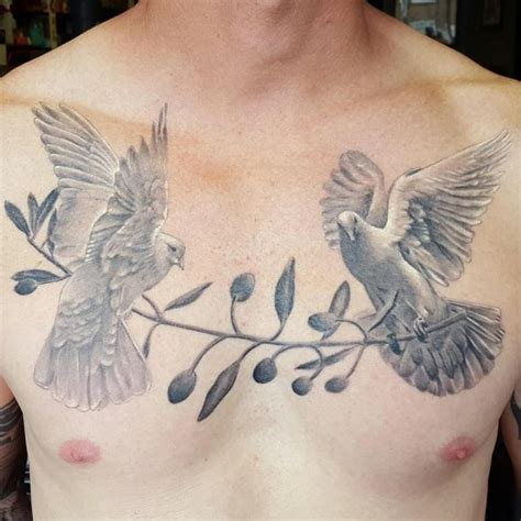 60 dove tattoo designs for men a bird of great significance