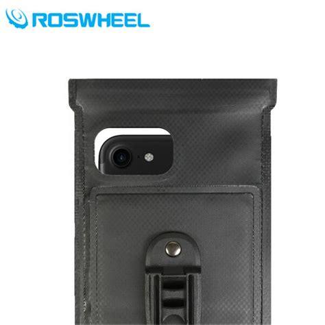 Smartphone Holder Sepeda roswheel waterproof bag holder sepeda untuk smartphone 6 inch black jakartanotebook