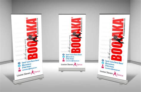 design x banner keren desain roller banner inspirations and free download template