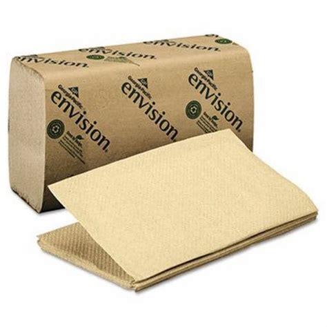 Single Fold Paper Towels - envision single fold paper towels 4 000 towels gpc 235 04