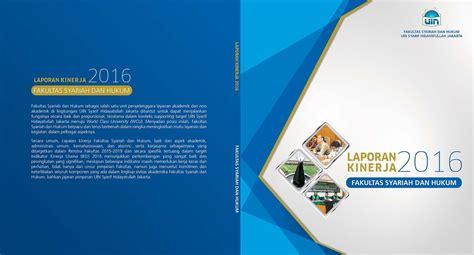 layout buku  desain cover laporan kinerja fsh