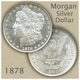 1878 morgan silver dollar value | discover their worth
