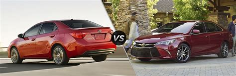 Toyota Camry Vs Corolla What S The Difference Between The Toyota Camry And Toyota