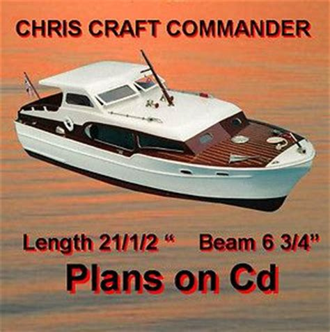 radio control chris craft boats harbor tug model boat plans ship plan