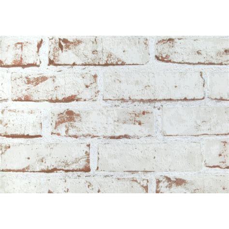 Papier Peint Brique Blanche 3751 by Papier Vinyl Expans 233 Sur Intiss 233 Brique Peinte