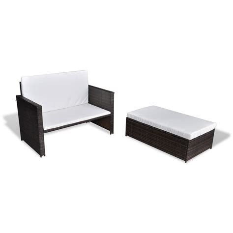 rattan sofa bed affordable variety outdoor 3 in 1 furniture set sofabed
