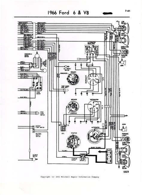 online service manuals 1993 ford thunderbird parking system i need a wiring diagram for a 1966 ford thunderbird alternator i cant get the alternator to work