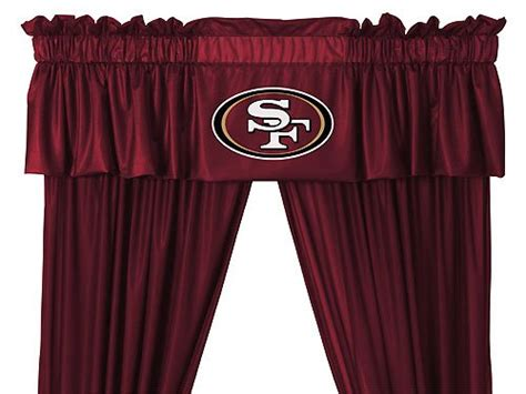49ers Shower Curtain by 49ers Curtain San Francisco 49ers Curtain 49ers Curtains