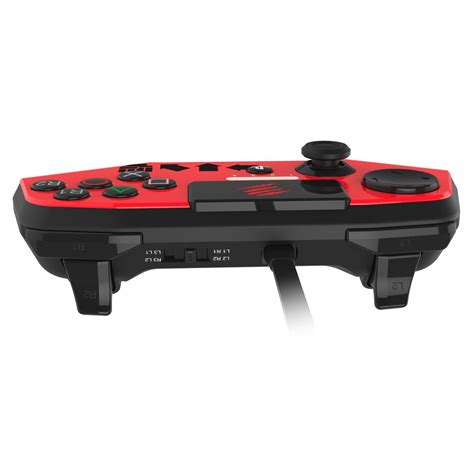 mad catz fighter v fightpad pro vs hori fighting commander 4 controller features
