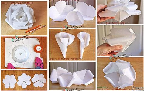 How To Make Roses Out Of Paper Step By Step - how to fold a paper with pictures wikihow