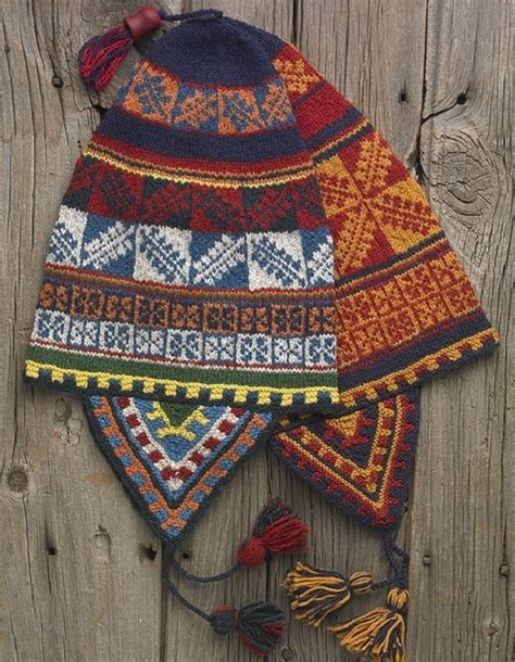 peruvian knitting chullo hat patterns