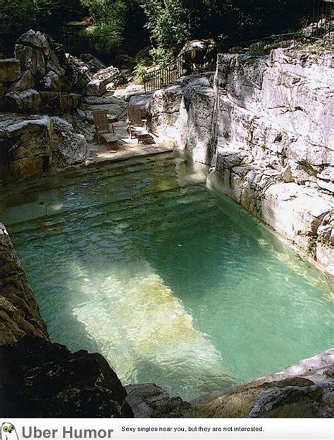 Backyard Quarry Pool Backyard Pool Built Into The Existing Limestone Quarry