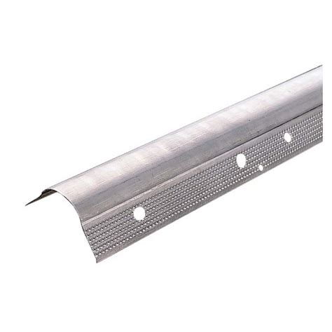 drywall metal corner bead shop amerimax 8 metal bullnose drywall corner bead at