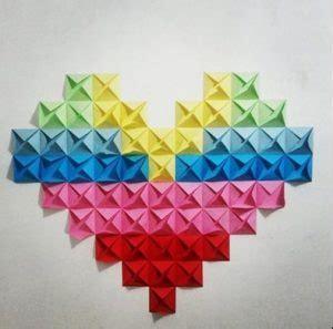 cara membuat hiasan dinding kamar dari kertas origami cara kreatif menghias dinding kamar tidur dari kertas