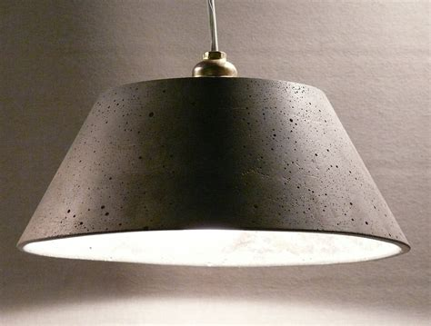 Concrete Pendant Light Concrete Pendant Light Martha By Ckleosteen On Etsy