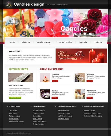 Crafts Website Template 23271 And Craft Website Templates