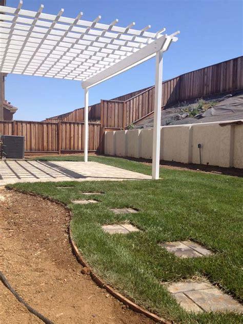 Landscape Architect Gilroy Arbor Construction In Hill Nor Cal Landscape Design