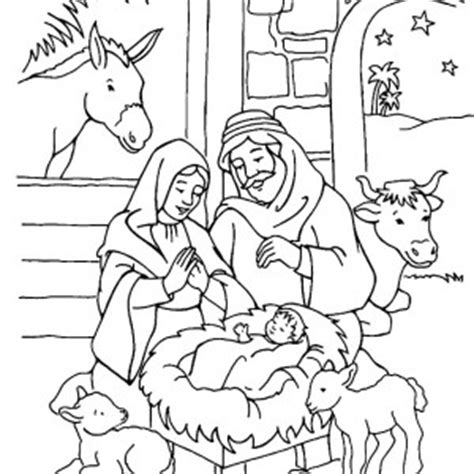 search results for manger scene coloring page calendar