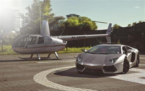 Lamborghini Helicopter Lamborghini Aventador Wallpaper