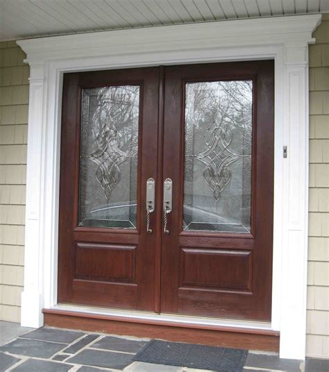Home Design 85 Marvellous Front Door With Glasss Glass Front Doors For Houses