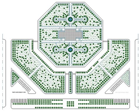 giardini dwg giardini pubblici schemi progettuali dwg