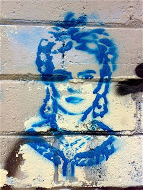 gypsy red  lotta stencil graffiti