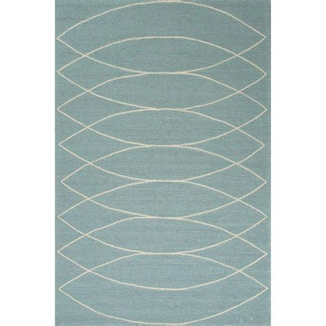 turquoise geometric rug home decorators collection canoe dusty turquoise 2 ft x 3 ft geometric area rug 2559700330