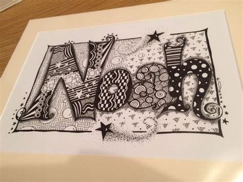 doodle own name 26 best images about zentangle names on
