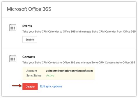 Office 365 Zoho Crm Zoho Crm For Office 365 Help Zoho Crm