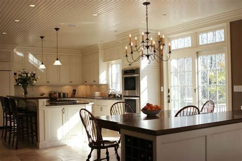beadboard kitchen ceiling white kitchen with beadboard ceilings beadboard ceiling