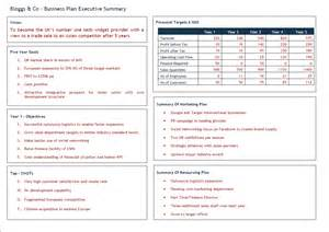 business plan template free download uk