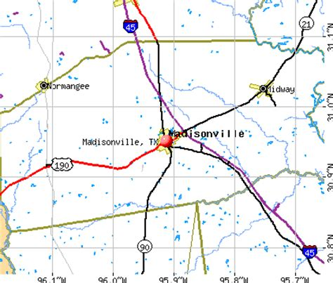 madisonville texas map madisonville texas gallery