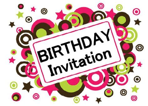design online birthday invitations free printable birthday invitations 171 home life weekly