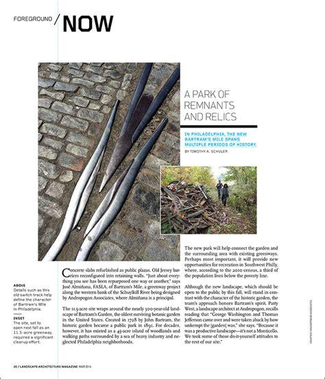 A Park Of Remnants And Relics Landscape Architecture Landscape Architecture Magazine