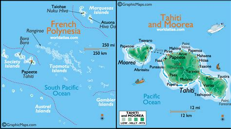 map of tahiti tahiti map toursmaps