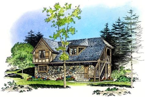 Country Cottages Europe Cottage Country European Tudor Garage Plan 86062