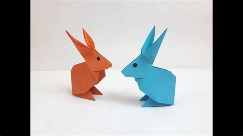 How To Make A Rabbit Out Of Paper - how to make a paper rabbit