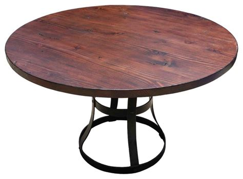 Kitchen Table Base by Detroit Dining Table With Metal Base Industrial