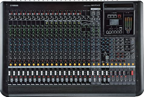 Mixer Audio Yamaha 24 Channel yamaha mgp24x 24 channel 4 audio mixer with dual