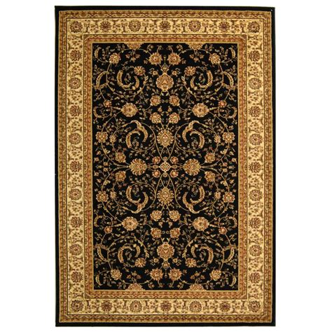 11 X 12 Area Rug Safavieh Lyndhurst Black Ivory 8 Ft 11 In X 12 Ft Area Rug Lnh219a 9 The Home Depot