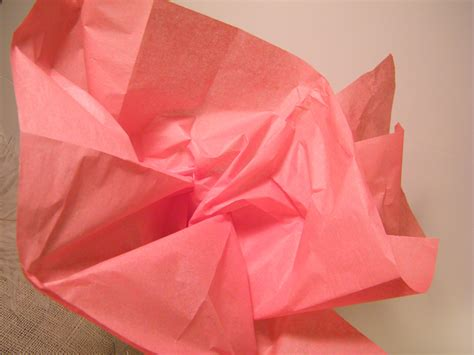 With Tissue Paper - coral pink tissue paper bulk craft supplies 48 by morrelldecor