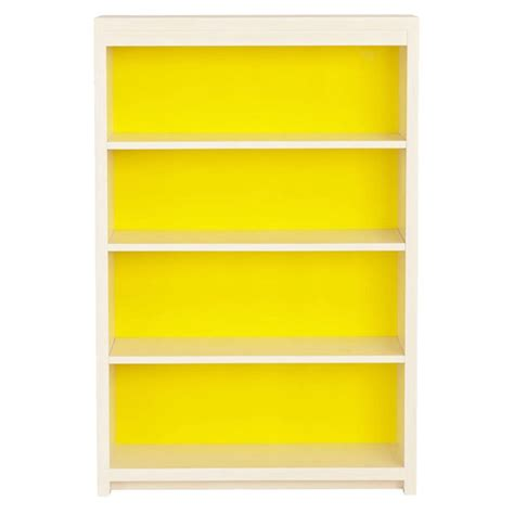 yellow bookcase intriguing interiors