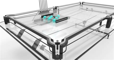 This Transparent Glass Pool Table Is The Perfect Glass Pool Table